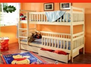 Детскую двухъярусную кровать бу